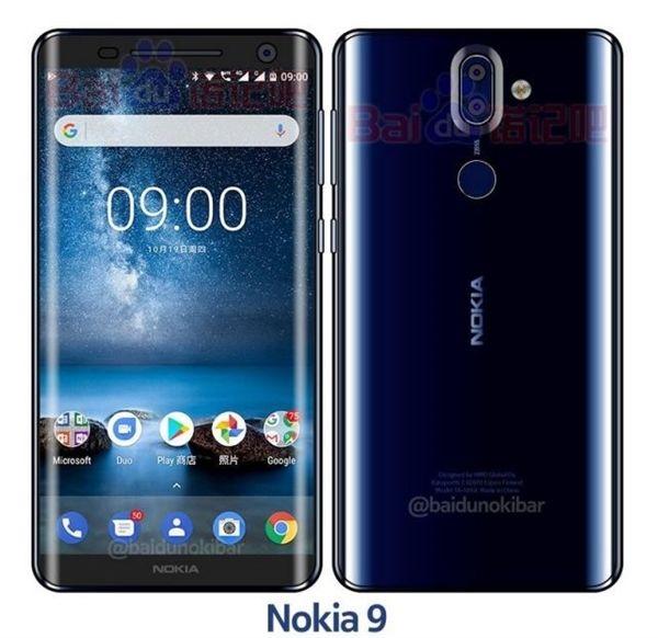 Nokia 9被曝光,诺基亚的产品设计你可还满意