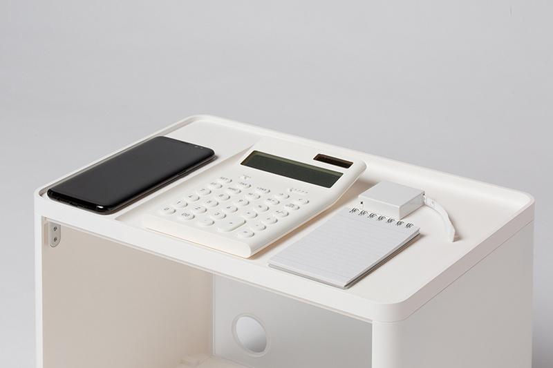 无印良品即视感!三星设计了两个系列无线充电家具