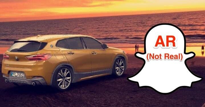 Snapchat与BMW合作推出新AR广告,期望创造新的营收方式