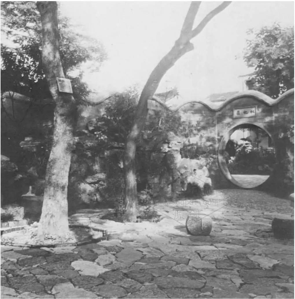 一组苏州园林黑白照片,囊括了苏州园林九分的美图片