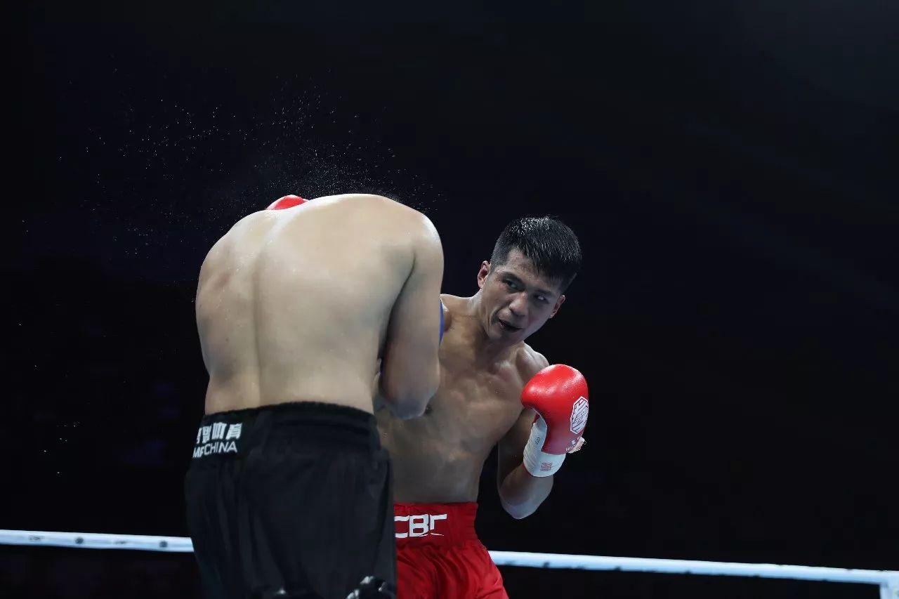 中国拳王赛厦门站四将强强对话 角逐金腰带挑战权