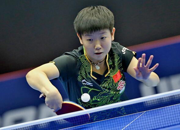 王曼昱独得两分中国3-1日本 夺得世青赛女团冠军