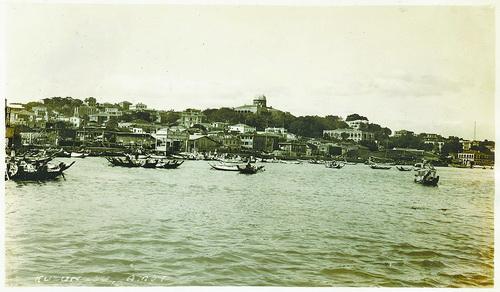 见证华侨黄仲训往事 黄家渡码头曾有七米高门楼