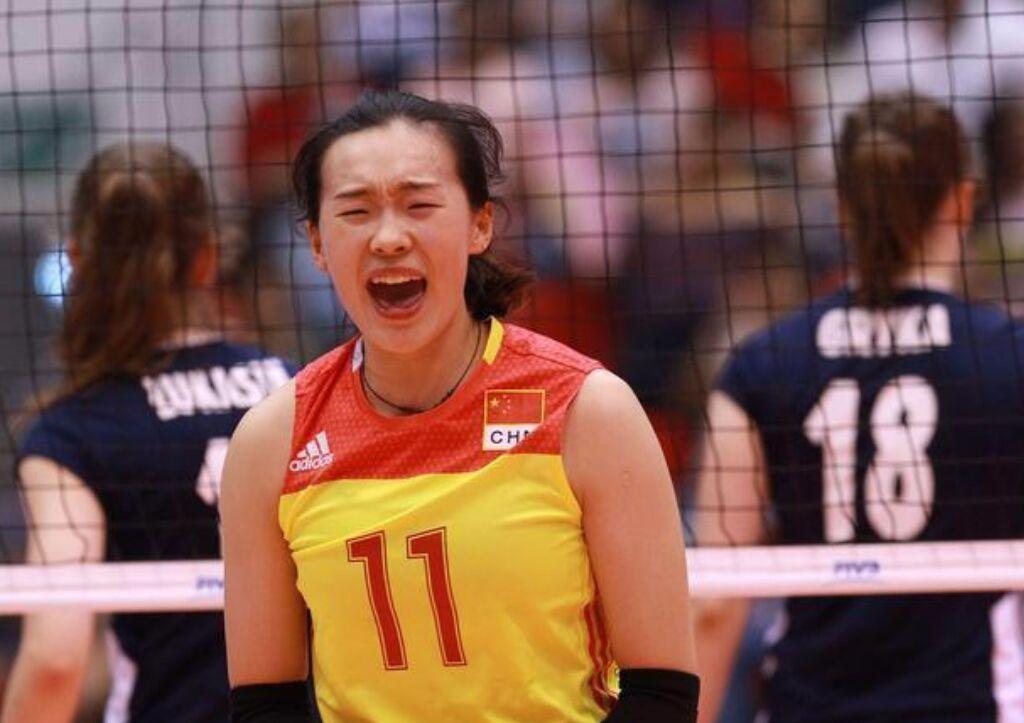 朱婷师妹扛起母队大梁,努力打进国家一队,潜力不输李盈莹!