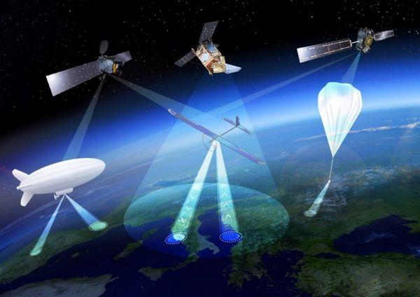 因为它结合了无人机和卫星的许多属性