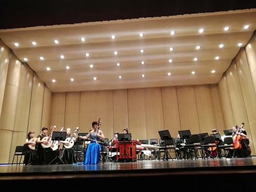 山西省歌舞剧院民族乐团来渝 音乐会《丝弦鼓韵》奏响山城