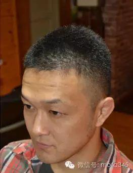 小平头剪最帅,小平头帅哥发型!日式中分短发图片