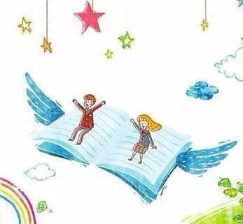 """"""" 读书不一定能改变命运,但一定能丰富人生"""" 书是梦的翅膀 可是,高高"""