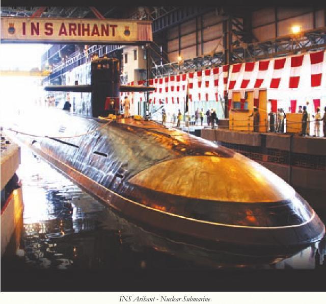 印度国产核潜艇成色如何?一指标还不如中国40年前的091