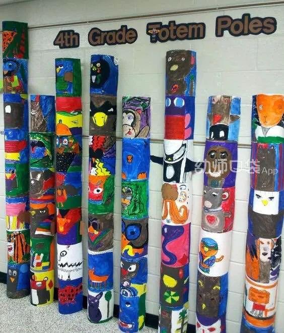 幼儿美工作品展示的100种创意,让你的教室美出新高度!
