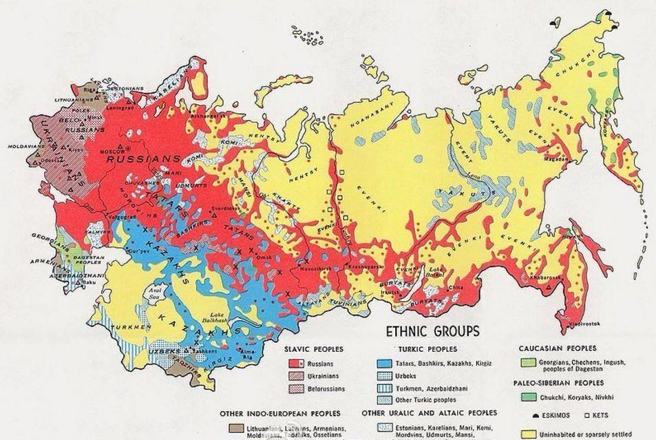 俄罗斯人口密度小的影响因素_俄罗斯人口密度地图