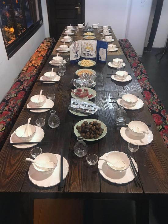 乌镇顶级饭局菜单 互联网半壁江山四聚首 - 点击图片进入下一页
