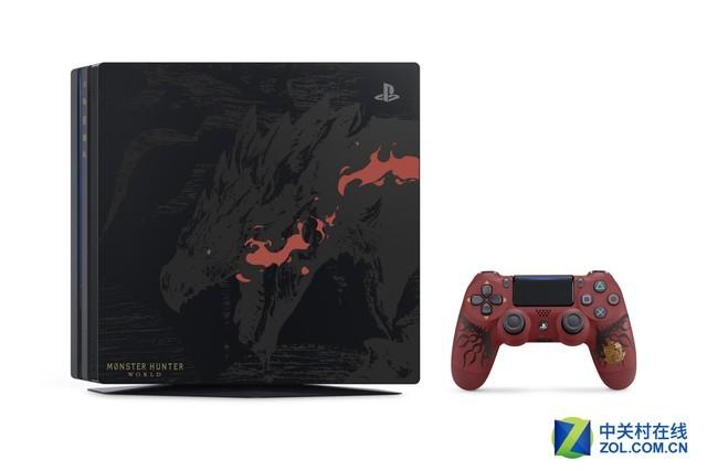 换个外壳又能赚钱 怪物猎人:世界版PS4 Pro发布