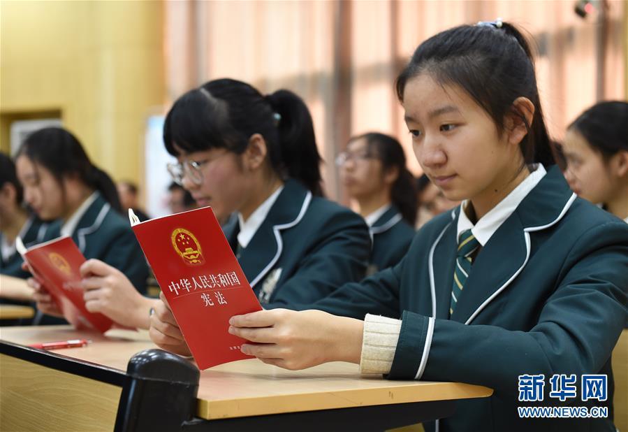 南京 国家宪法日 法治教育进校园