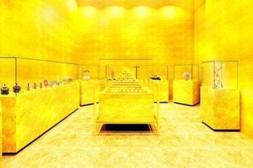 4700万元打造:日本建纯金房间 体验亿万富豪感觉
