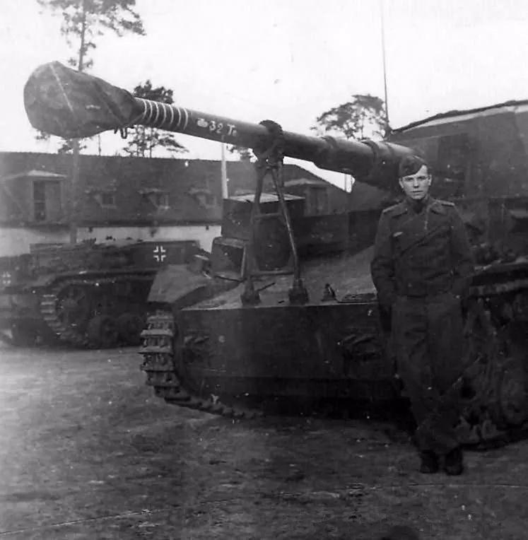 又脆弱的猎手,二战德军大麦克斯自行火炮