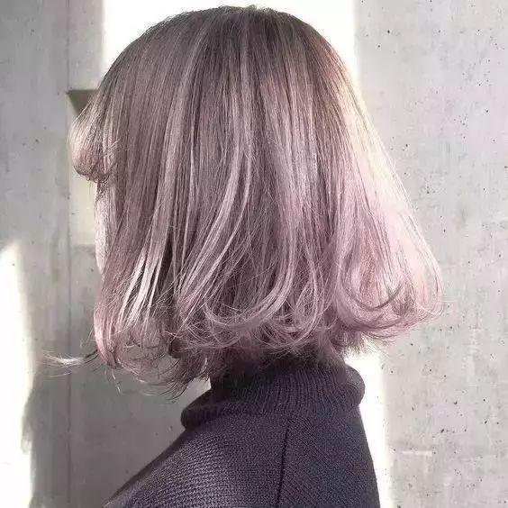 厌倦了黑长直?这6种新晋发色美到发光!