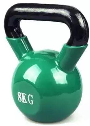 5分钟壶铃健身!在家练出腹肌、翘臀、马甲线样