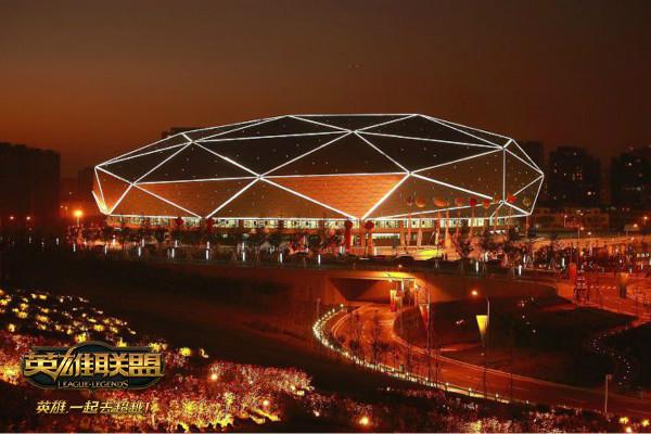 本届德玛西亚杯举办场馆——青岛国信钻石体育馆