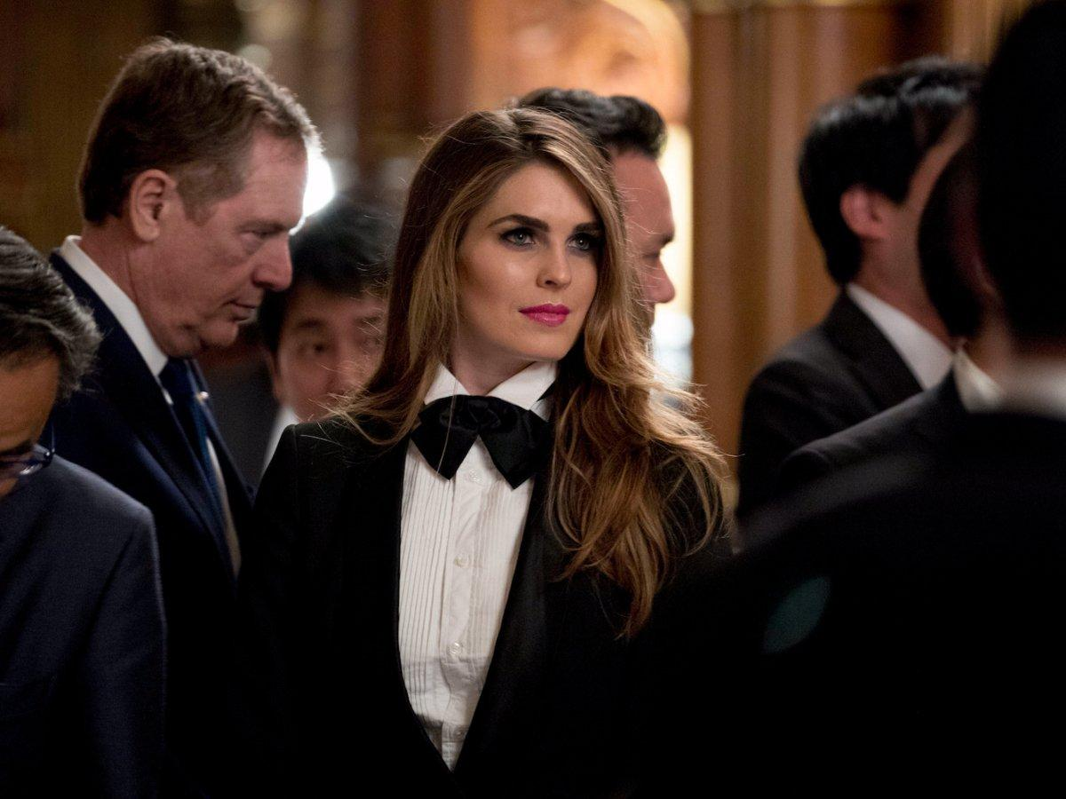 干女秘书50p_从模仿伊万卡到粉梅拉尼娅,特朗普女秘书的风格变了