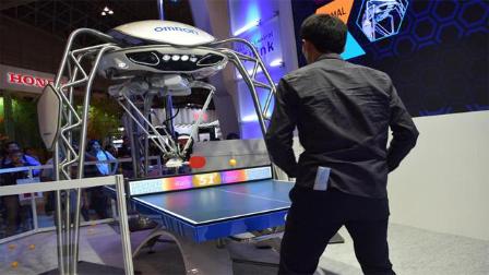 日本为备战奥运研发乒乓教练机器人,中国:发球技术还不如刘国梁