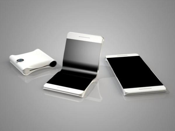 三星折叠手机概念图(图片来自网络)