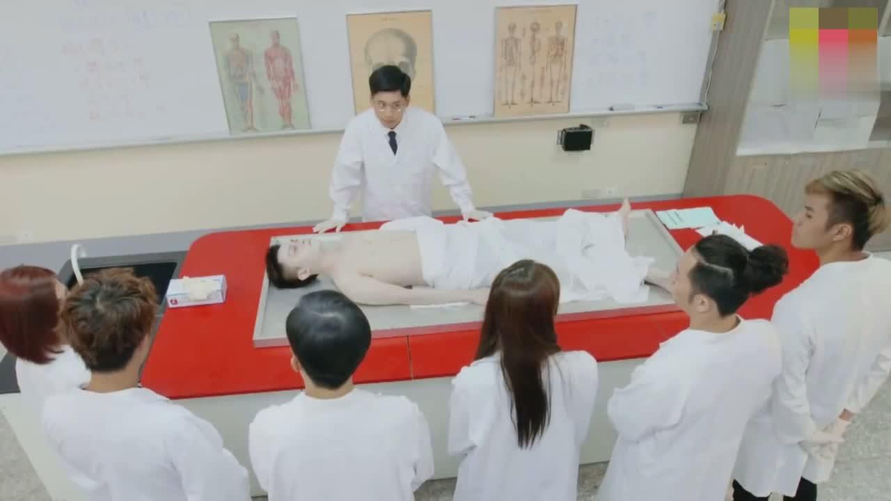 女尸体解剖