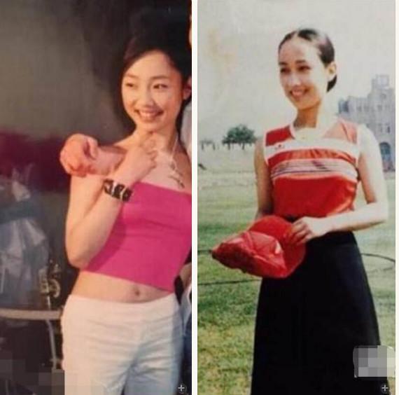 白百何19岁旧照曝光,和她妈年轻时一模一样