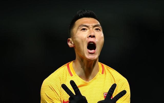 于大宝高空轰炸!韩国足球的克星 果然名不虚传