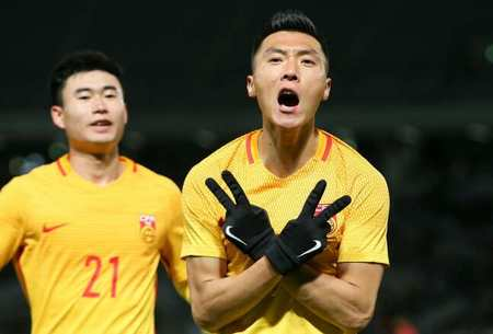 韩国足球的克星!于大宝关键进球让韩国复仇无果