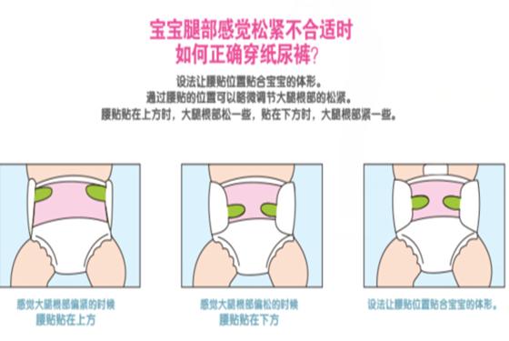 宝宝纸尿裤如何使用 花王婴儿纸尿裤使用方法介绍