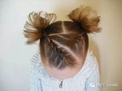 超好看女童编发发型 ,快让宝宝自己选一款吧!