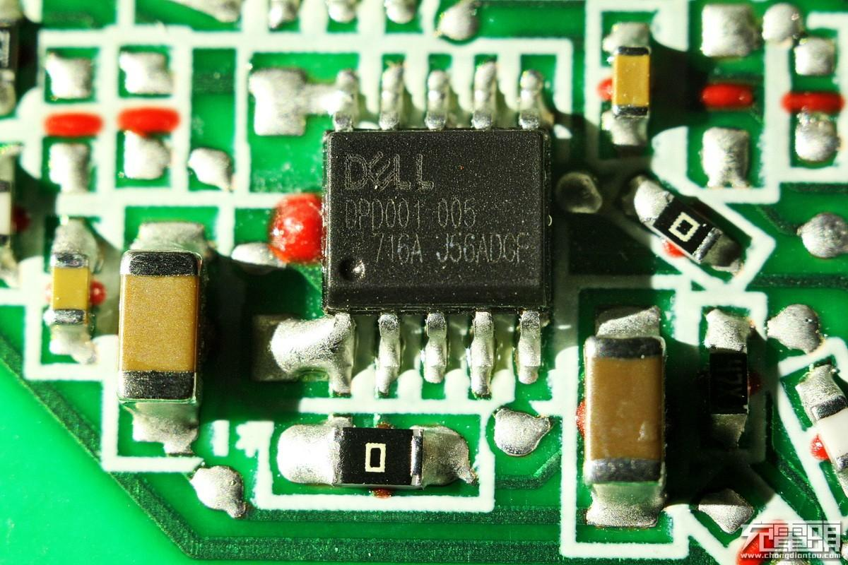 dell戴尔65w type-c pd电源la65nm170拆解