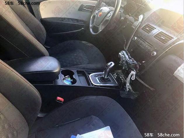 疑似红旗电动SUV谍照 或将用X80动力系统