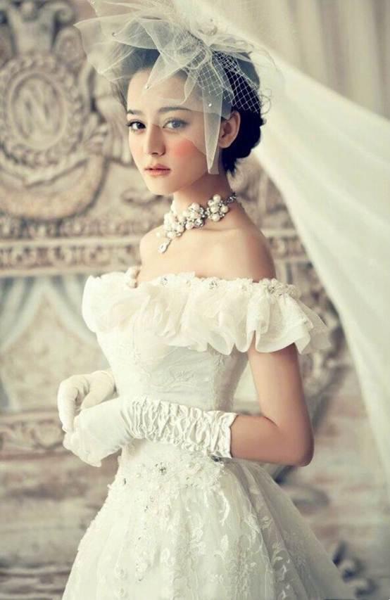 迪丽热巴的婚纱照_迪丽热巴婚纱照高清