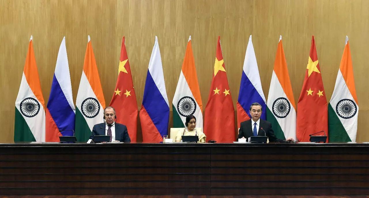 敏感时期,中俄印外长会晤都谈了啥?