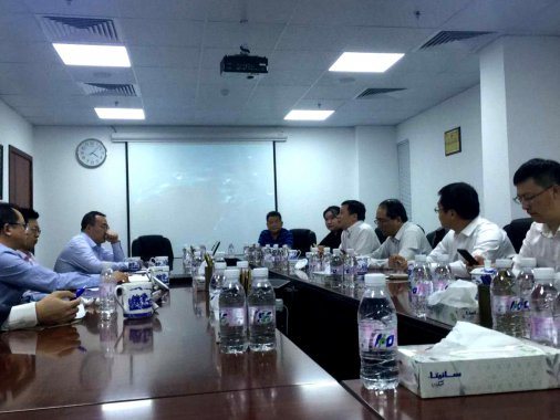 """上海兰宝环保受邀石油石化""""一带一路""""战略合作中东商务考察"""