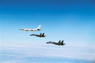 "6K等多型战机 成体系""绕岛巡航""爱情睡醒了15"