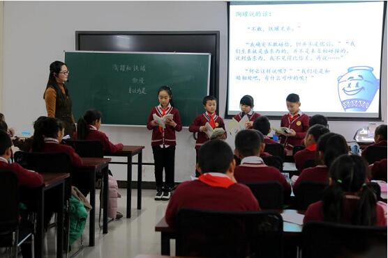 中原区语文高效课堂协作组教研活动在育华学校举行