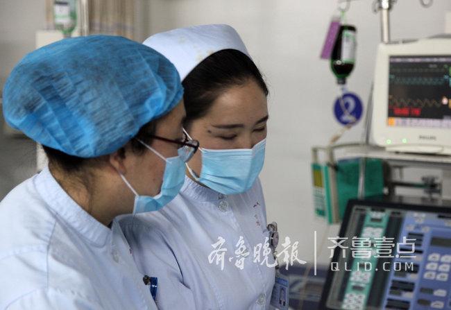 济宁暖心护士寒冬清晨环抱伤者10多分钟等来急救车