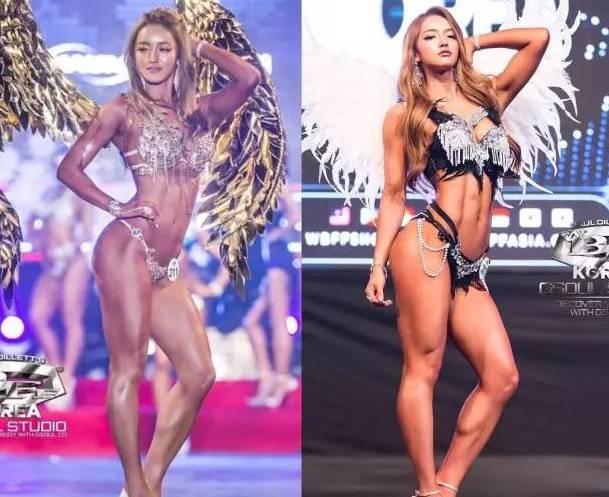 韩国小胖妹变身肌肉美女,蜂腰翘臀性感完胜欧美大妞!
