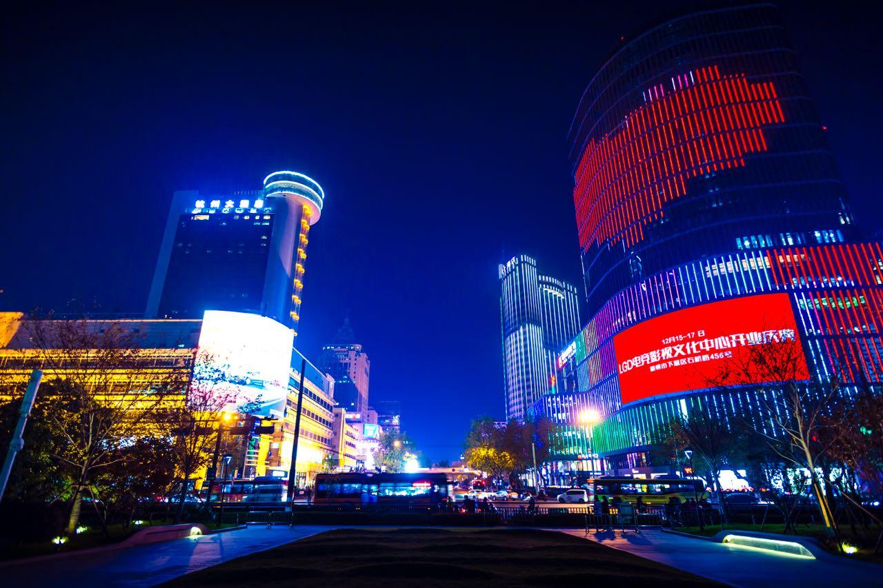 LGD主场将开业杭州到处有宣传海报