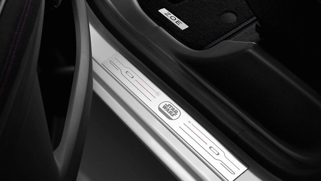 雷诺ZOE星战特别版官图 限量销售1000台