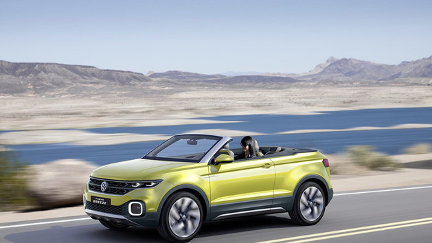 大众T-cross紧凑型SUV 或明年全球亮相