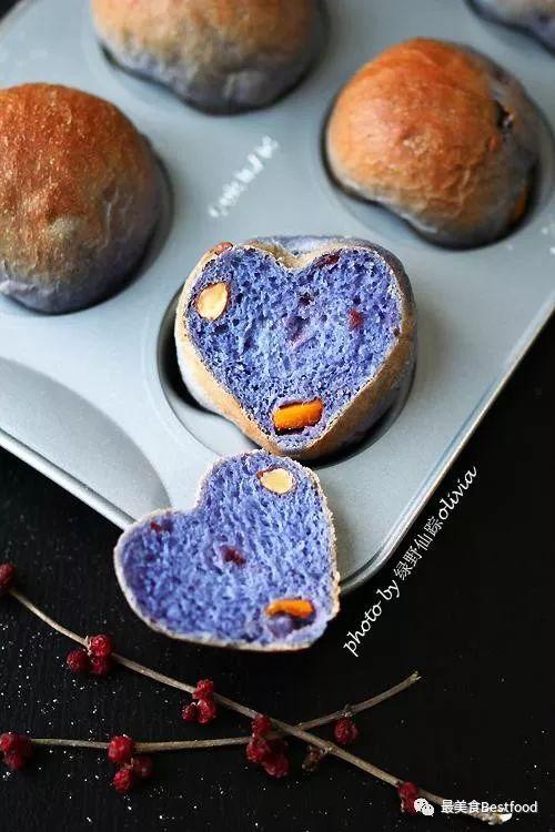 心形|面包面包星空网红床垫,一种食材让面包食谱架排骨子图片