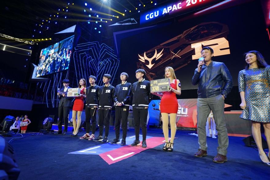 CGU APAC 2017正式开幕,七彩虹&NVIDIA双剑合璧!