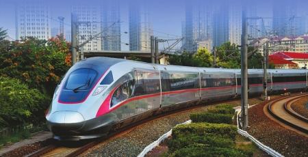 作为中国最新研发的动车组,复兴号自亮相京沪高铁以来,高颜值,高科技图片