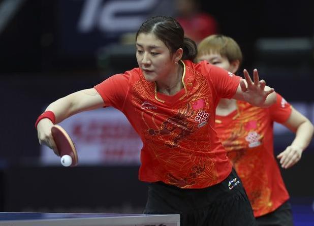 中国女乒4-0横扫日本包揽双冠!日最强组合被打懵