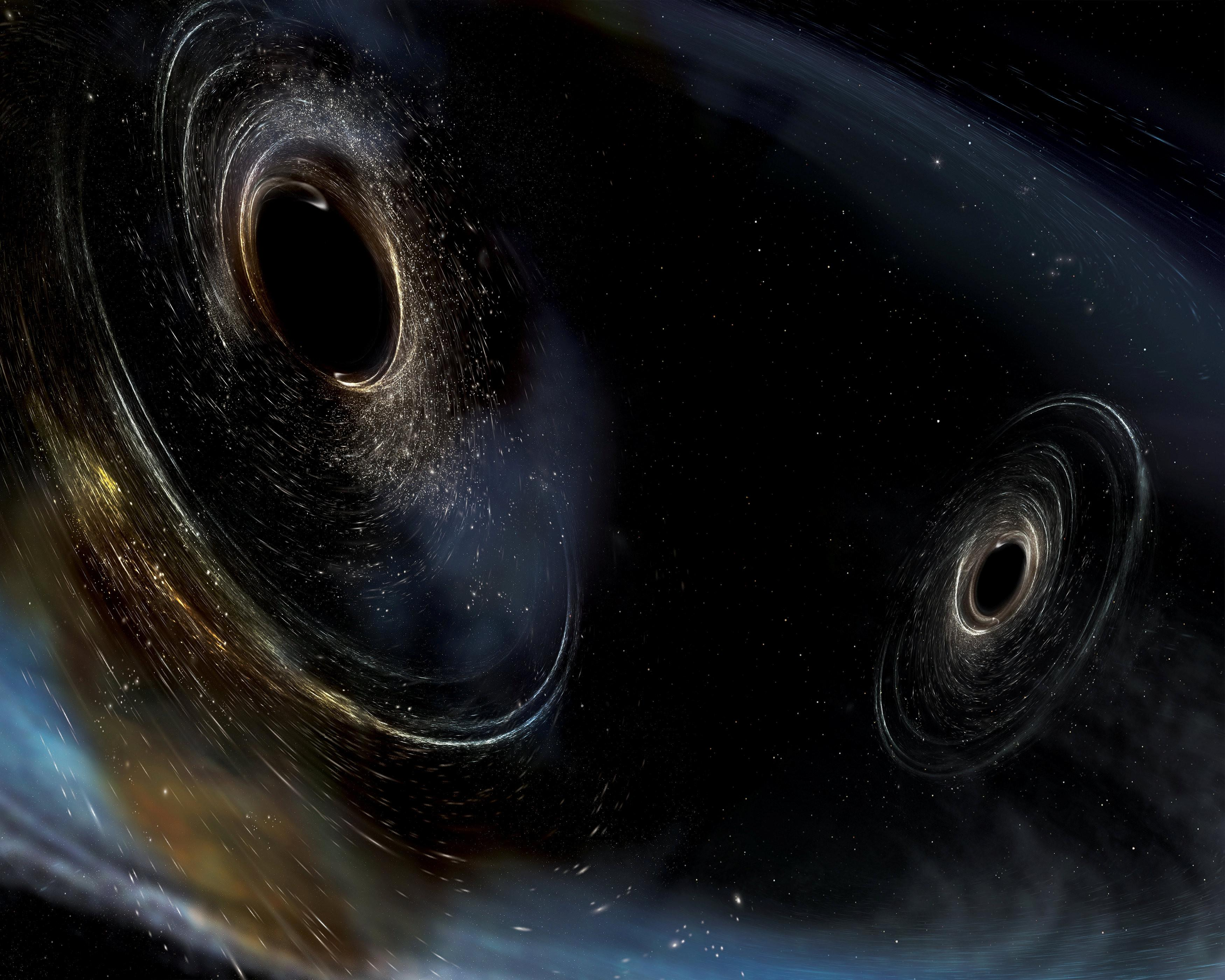 黑洞中心到底是什么,又会通往何方?科学家认