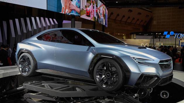 全新一代电动 斯巴鲁WRX 或2020年亮相